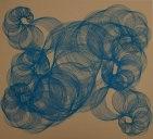 Blue Fibonacci Spirals 2013